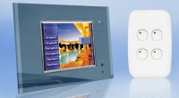 Go Clipsal C-Bus Touch Screen home automation page.