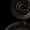 Krix Atomix Series One compact 2-way bookshelf speakers.