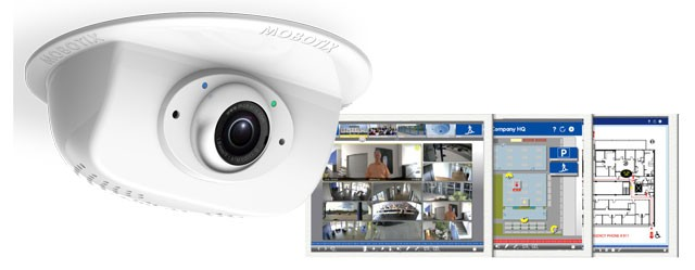 Mobotix p25 6MP indoor ceiling home automation IP camera brochure (322KB pdf)