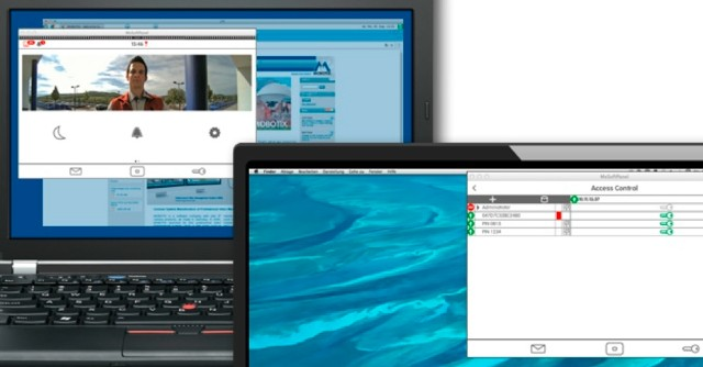 New FREE Mobotix MxSoftPanel home automation PC and Mac software released.