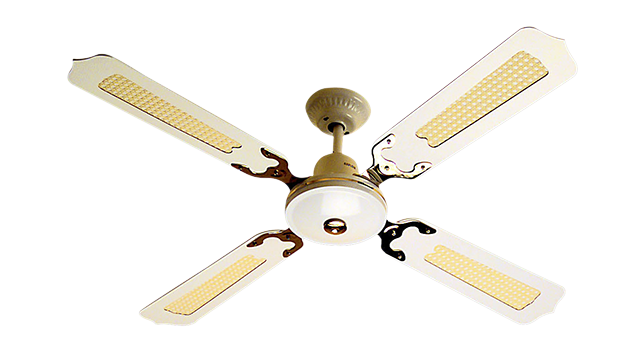 Ceiling sweep fans: Home automation speed control.