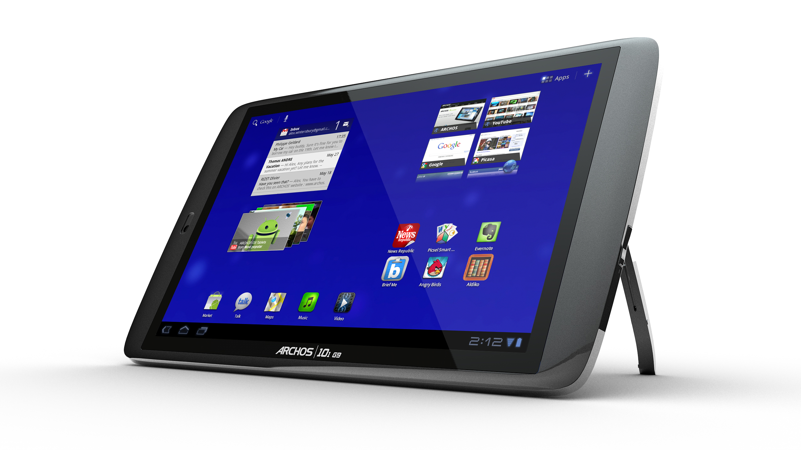 archos 101 g9 internet tablet rh cleverhome com au archos 101 g9 user manual Archos 101 Ports