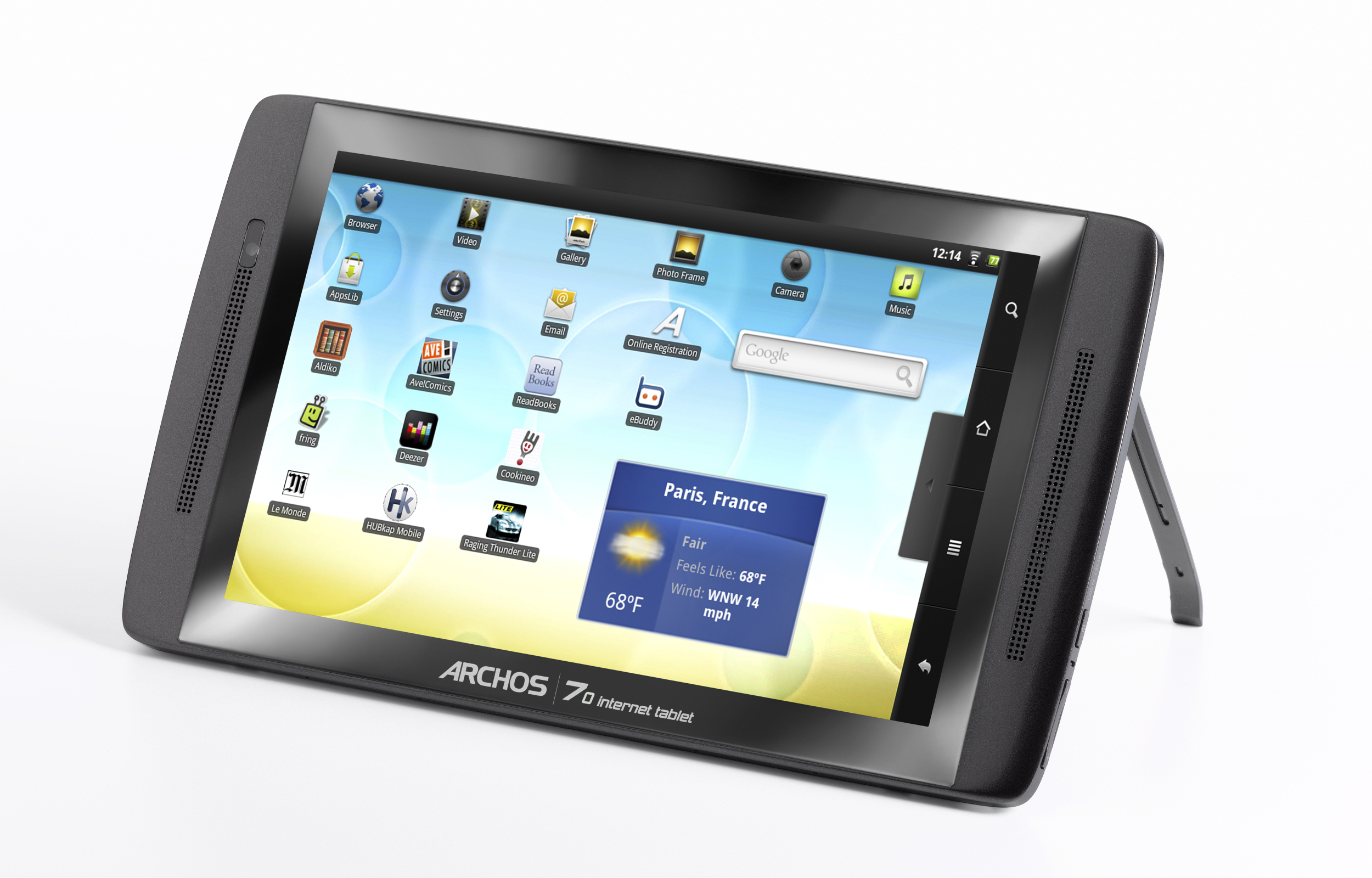 Archos 70 internet tablet 250gb инструкция