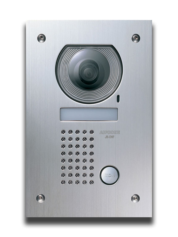 Aiphone jf video intercom aiphone jf dv jf dvf jf 2med jf for Front door video intercom