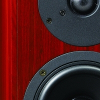Krix Equinox 2-way bookshelf speaker photo (1.14MB jpg).