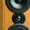 Krix Acoustix Main 2-way 3-driver bookshelf speakers.