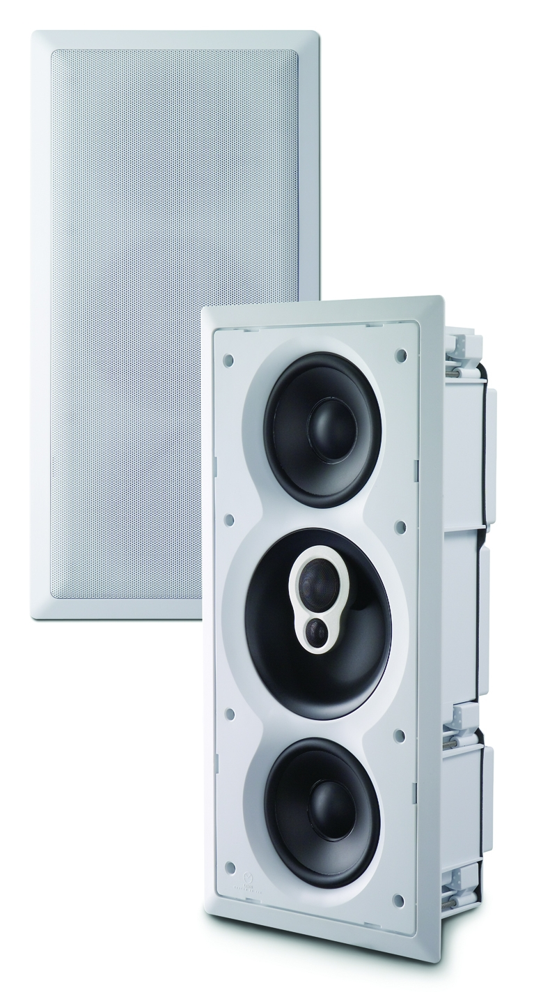 Linn CUSTOM 2K in-wall in-ceiling loudspeakers. Clever Home automation.