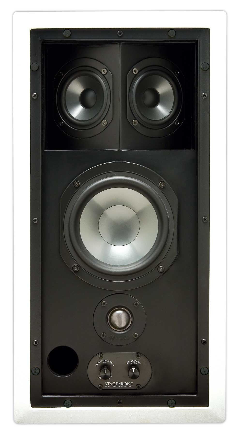 Niles Stagefront In Wall Speakers Clever Home Automation
