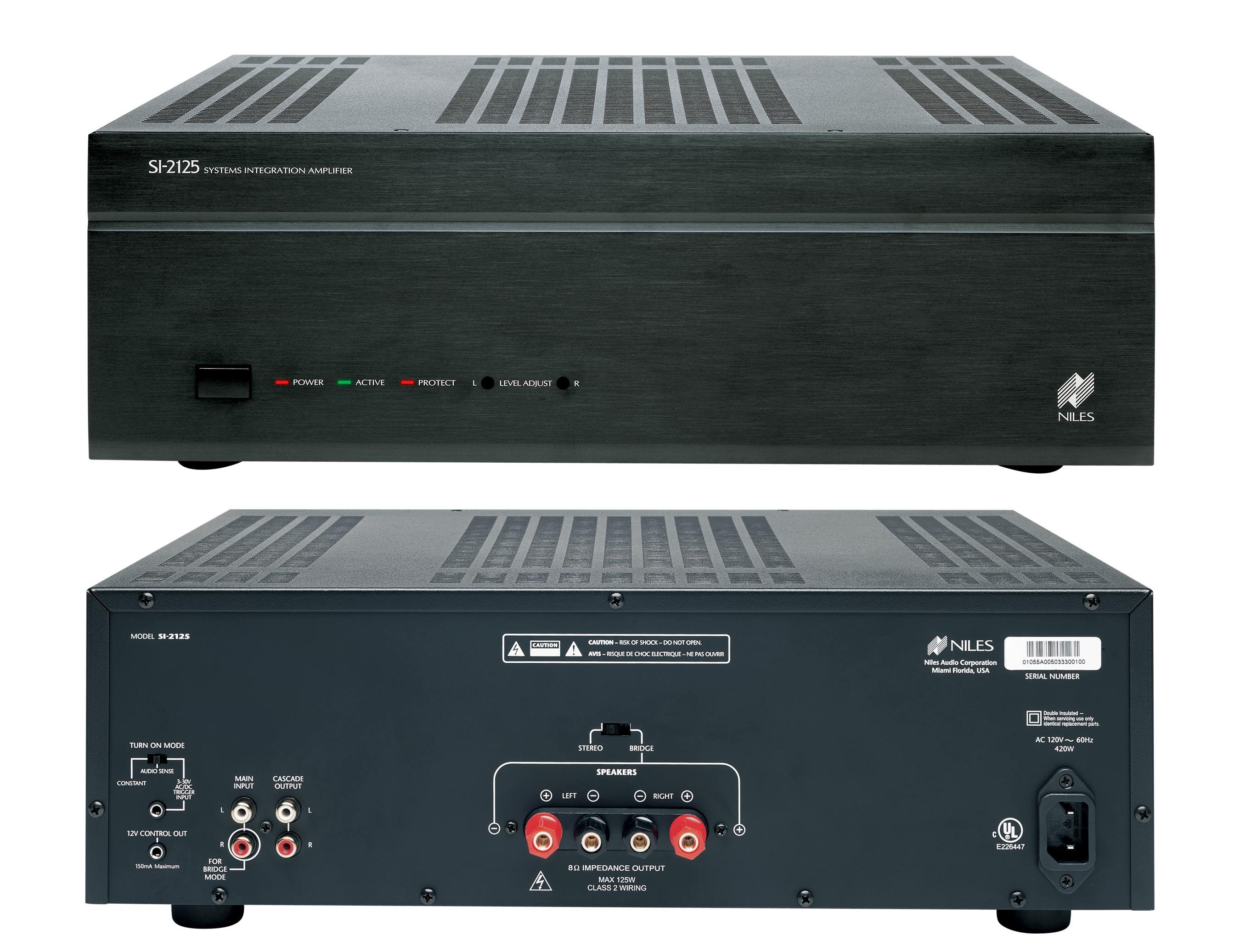 Niles Multi Room Audio Remote Amplifiers Si 245 Si 275 Si