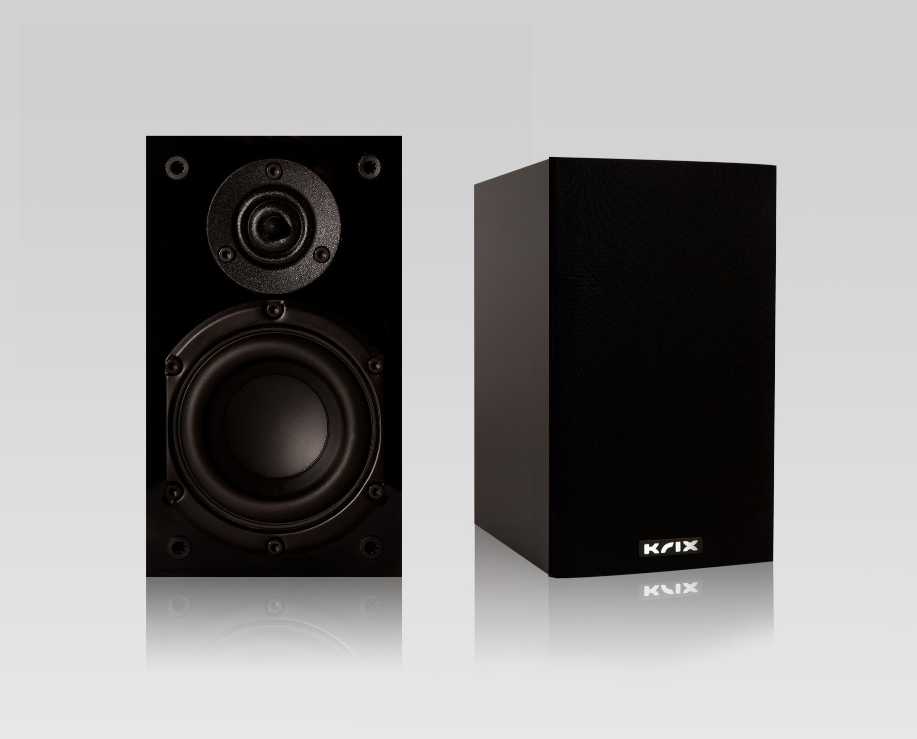 Krix Atomix Bookshelf Speakers For Home Theatre Or Stereo