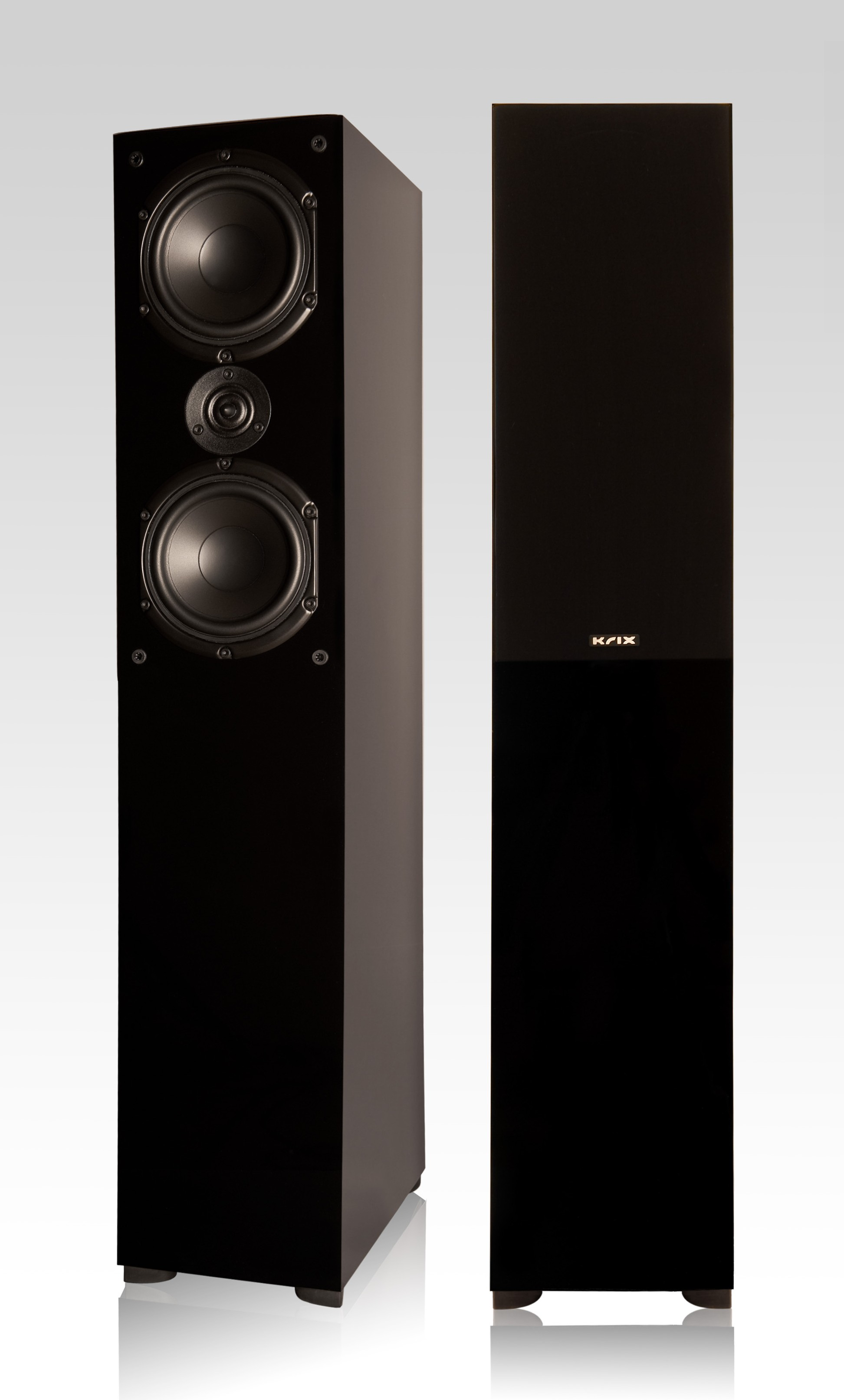 Krix Rhythmix floorstanding speaker for home theatre or stereo