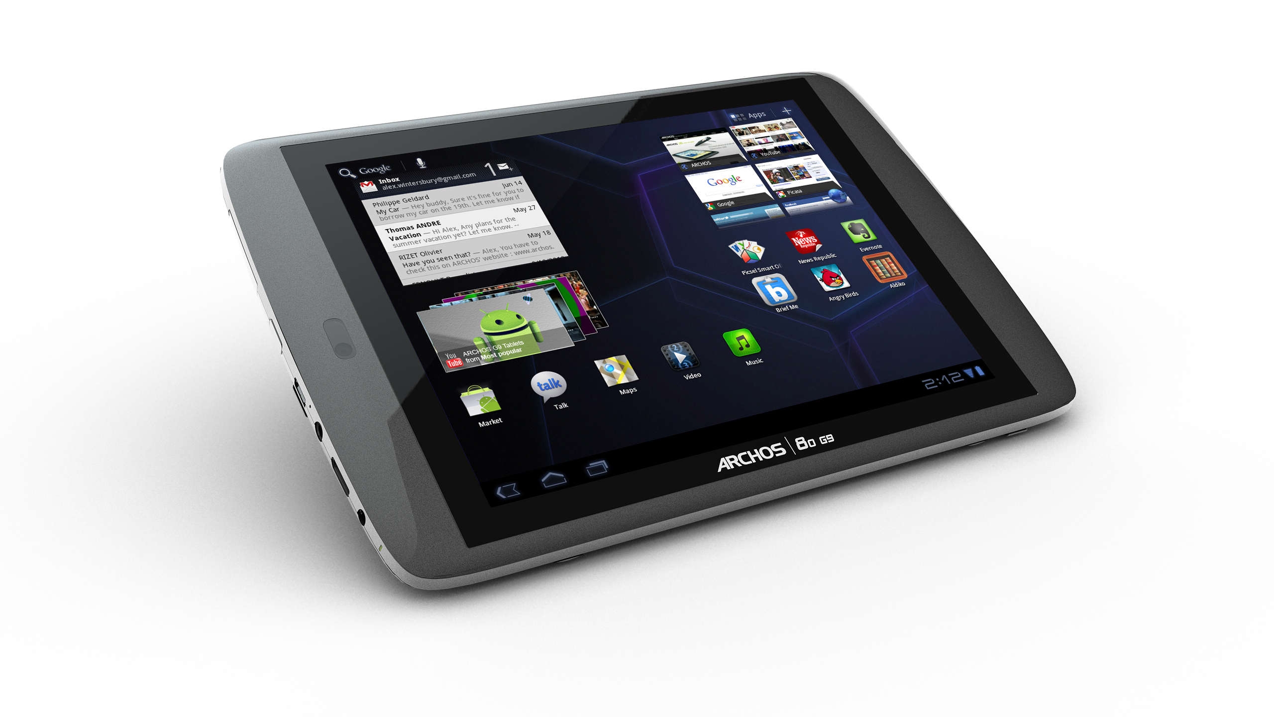 Archos 80 G9 Internet Tablet